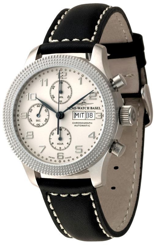 Zeno Watch Basel Clou De Paris Chronograph Retro Dial