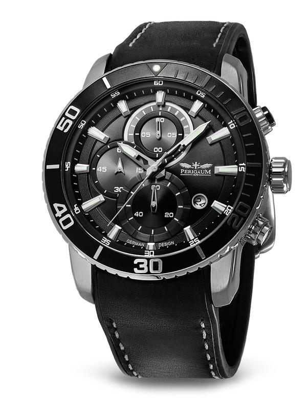 Perigaum Chronograph German 1402 Ti Design Brands P Grbk Orbit Space PkOZiXu