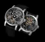 SCHAUMBURG WATCH Unikatorium hand made PALÄONHOROLOGIE 15 - completely hand skeletonized movement