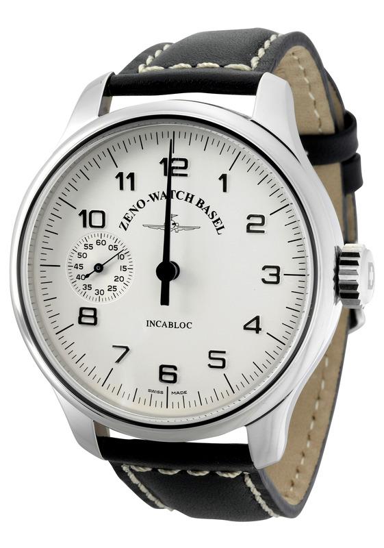 Zeno Watch Basel Oversized Os Retro Uno No Minute Hand