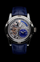 LOUIS MOINET 20-SECOND TEMPOGRAPH Ref. LM-39.20.20 Titanium Blue - Limited Edition of 60 Timepieces