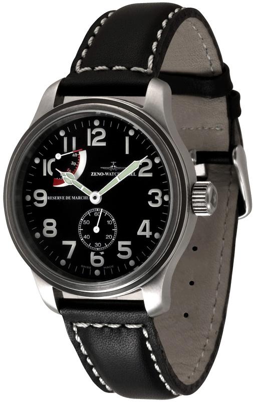 Zeno Watch Basel Nc Pilot Power Reserve Ref 9554 6pr A1
