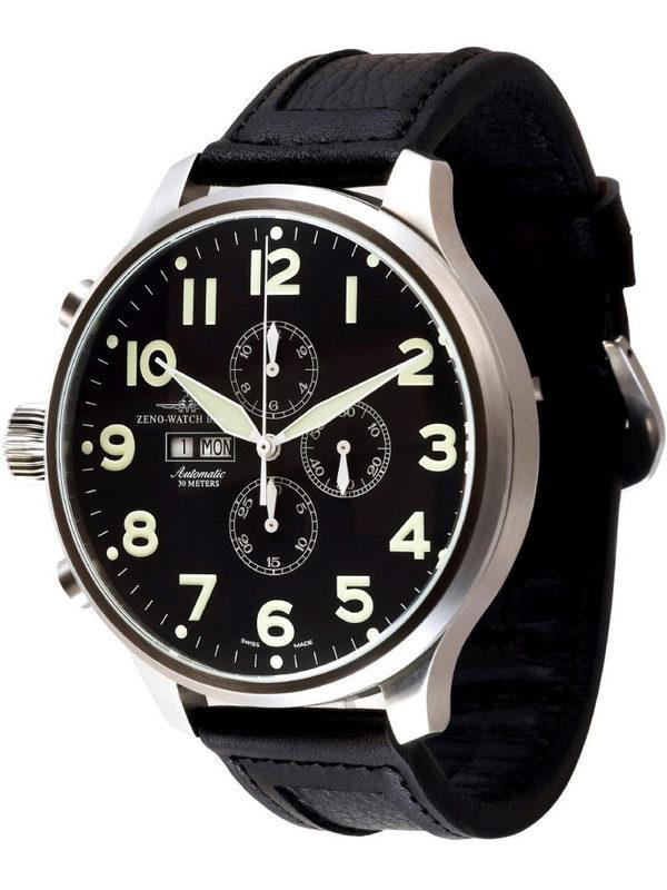 Zeno Watch Basel Big Stars Sos Super Oversized Chronograph
