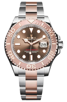 ROLEX YACHT-MASTER OYSTER PERPETUAL REF. 116621  STEEL & EVEROSE GOLD, CHOCOLATE DIAL, CAL. 3135